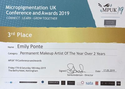 Micropigmentation-UK-2019-Highly-Commended