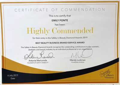 Safety-in-Beauty-Awards-2019-Highly-Commended